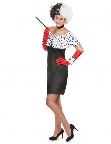 Sexy Dalmatiner-Frau Kostüm für Damen-1
