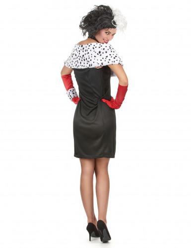 Sexy Dalmatiner-Frau Kostüm für Damen-2