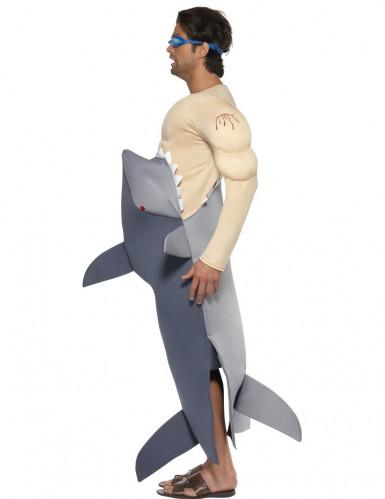Der weiße Hai-Kostüm für Herren-2