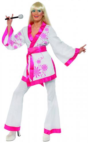 Disco-Kimono-Kostüm der 70er Jahre für Damen