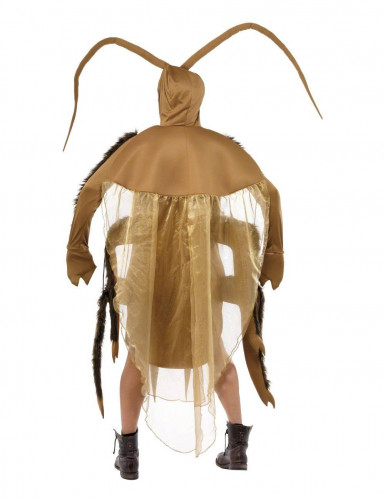 Kakerlakenkostüm für Erwachsene beigefarben-braun-1