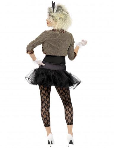 80er Jahre Rock-Kostüm für Damen-2
