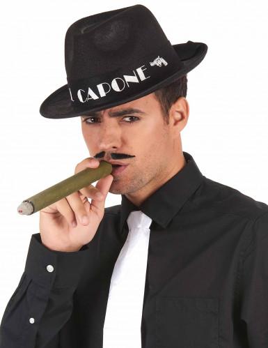 Borsalino Al Capone schwarz-1