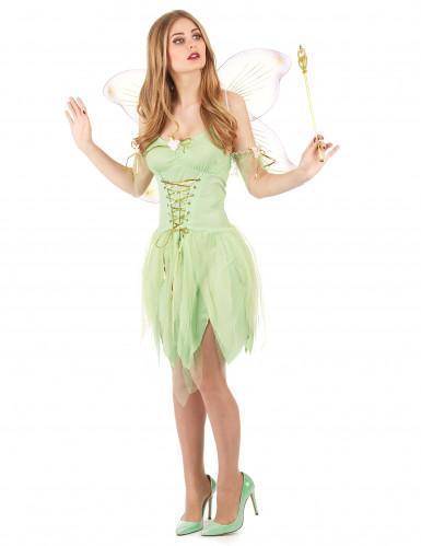 Sexy Kostüm Grüne Fee für Damen
