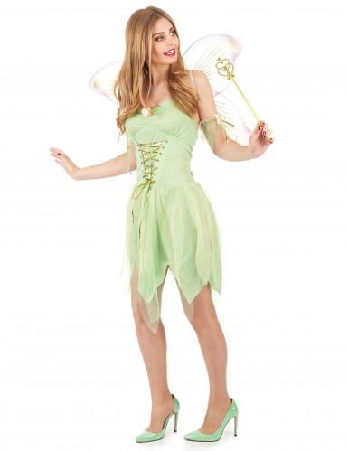 Sexy Kostüm Grüne Fee für Damen-1