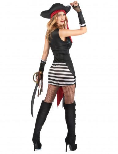 Sexy Piratinnen-Kostüm für Damen-2