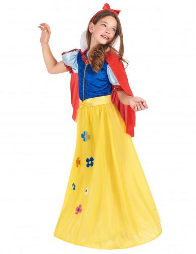 Zauberhaftes Märchenkostüm für Kinder blau-rot-gelb-1