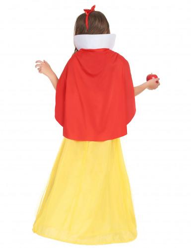 Zauberhaftes Märchenkostüm für Kinder blau-rot-gelb-2