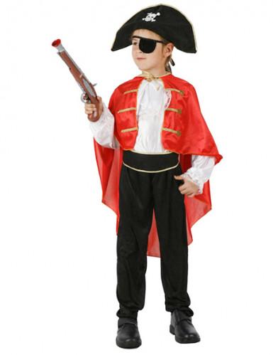 Jungen-Kostüm Piratenkapitän