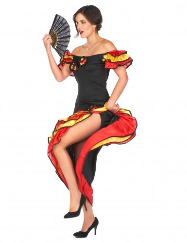 Flamencotänzerinnen-Kostüm für Damen-1