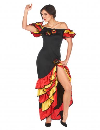 Flamencotänzerinnen-Kostüm für Damen-2
