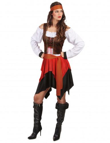 Piraten-Kostüm für Damen-1