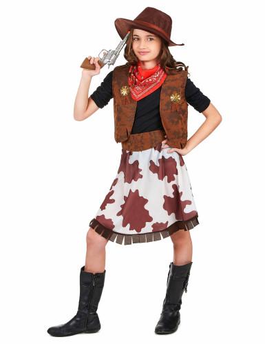 Cowgirl-Kostüm für Mädchen-1