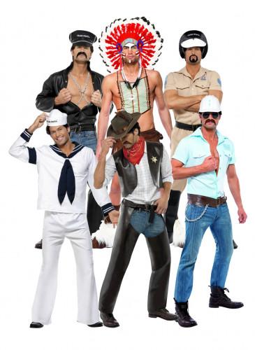 Village People-Kostüm für Gruppen