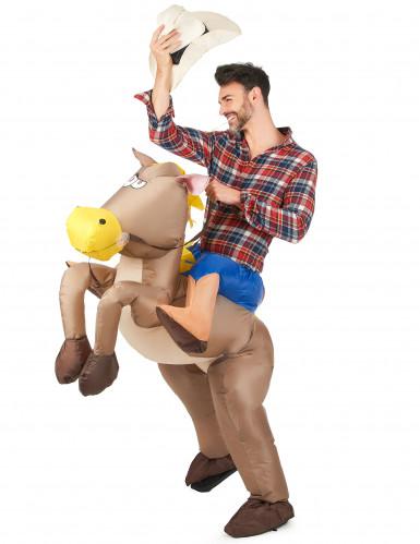Reiter und Pferd - Kostüm für Erwachsene-1