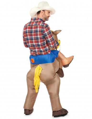 Reiter und Pferd - Kostüm für Erwachsene-2