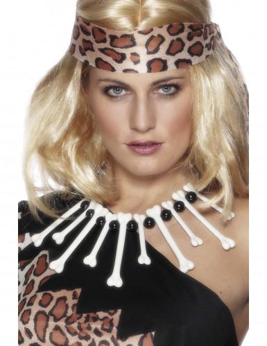 Höhlenmensch-Halskette für Erwachsene