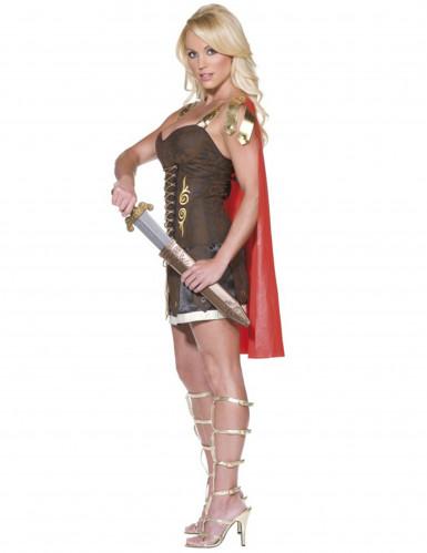 Sexy römische Gladiatorin-Kostüm für Damen-1