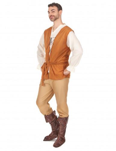 Mittelalterliches Bauern-Kostüm für Herren-1