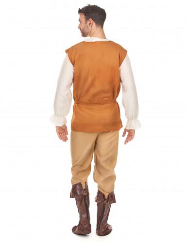 Mittelalterliches Bauern-Kostüm für Herren-2