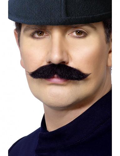 Schnurrbart eines englischen Polizisten für Erwachsene