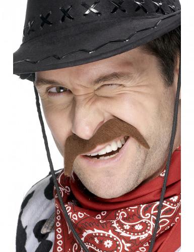 Schnurrbart eines Cowboys für Erwachsene