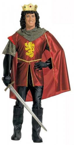 Mittelalterliches Ritter-Königskostüm für Herren
