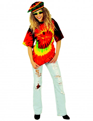 Rasta T-Shirt für Erwachsene-1