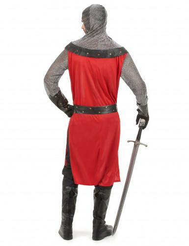 Mittelalterliches Ritter-Kostüm für Herren-2