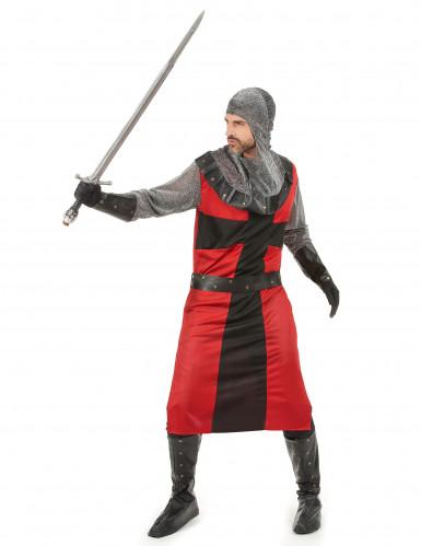 Mittelalterliches Ritter-Kostüm für Herren-1