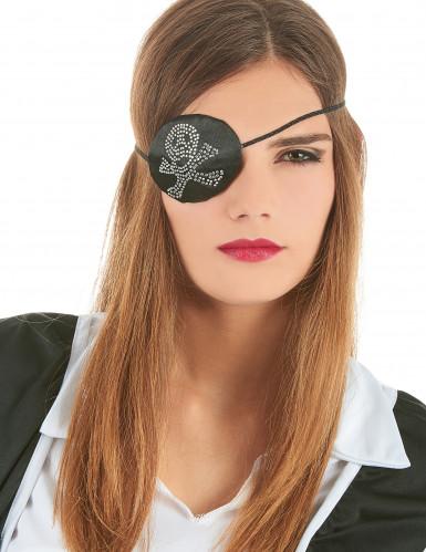 Piratenaugenklappe für Damen-2