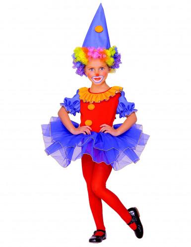 Clowns-Kostüm für Mädchen