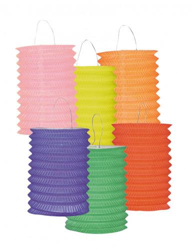 Lampion einfarbig