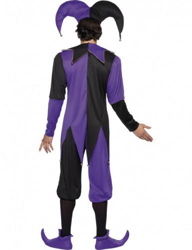 Mittelalterliches Hofnarren-Kostüm für Herren-2
