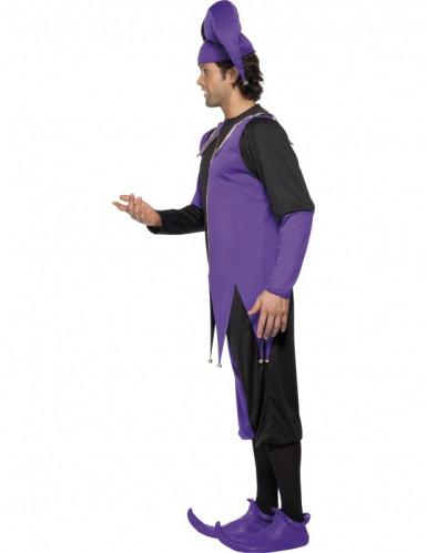 Mittelalterliches Hofnarren-Kostüm für Herren-1