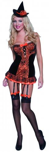Sexy Hexen-Kostüm Halloween für Damen
