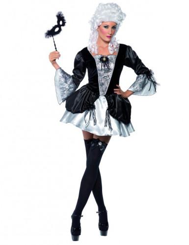 Sexy Barock-Kostüm für Damen