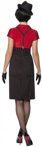 Luxuriöses Gangster-Kostüm für Damen-2