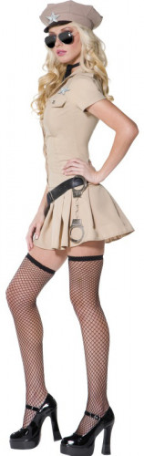 Sexy Sheriff-Kostüm für Damen-2