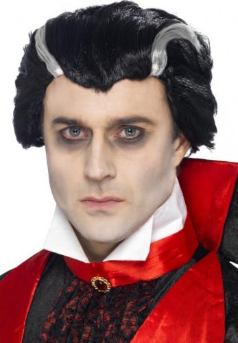 Vampir-Perücke Halloween für Herren