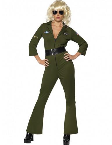 Top Gun™ Pilotinnen-Kostüm für Damen