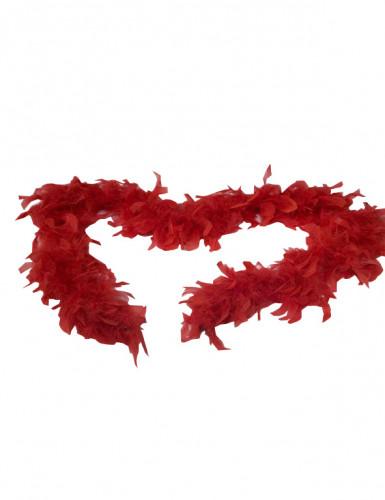 Feder-Boa rot für Erwachsene