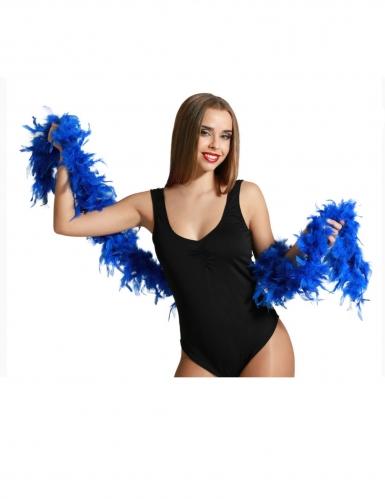Federboa hellblau für Erwachsene