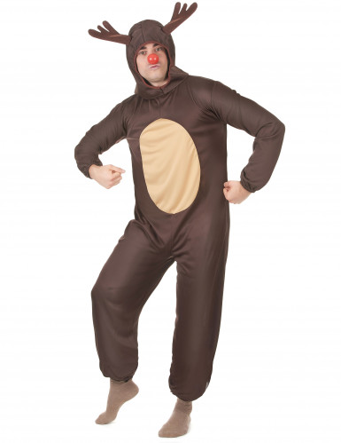 Rentier-Kostüm Weihnachten für Herren-1