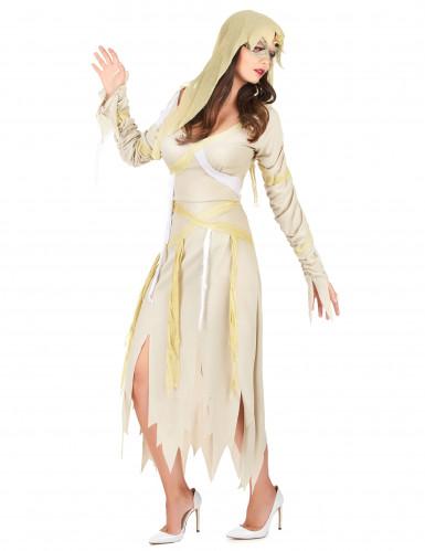 Mumien-Kostüm Halloween für Damen-1