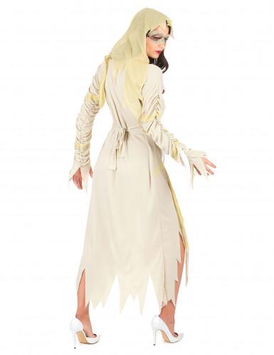 Mumien-Kostüm Halloween für Damen-2