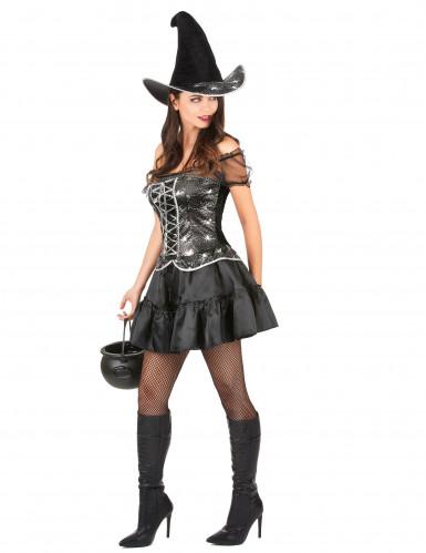 Hexenkostüm Sexy Halloween für Damen-1