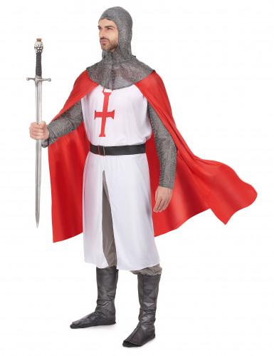 Kreuzritter Kostüm für Herren-1