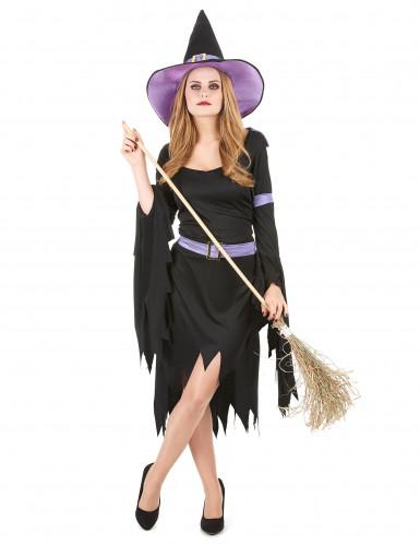 Hexenkostüm Glamour Halloween für Damen