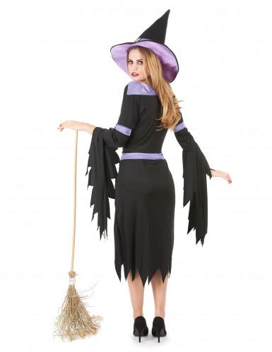 Hexenkostüm Glamour Halloween für Damen-2